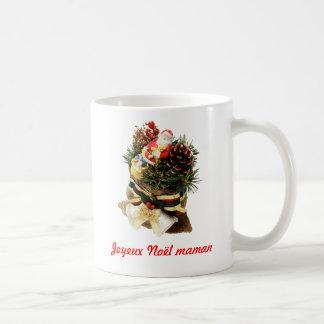 Cup Merry Christmas mom Basic White Mug
