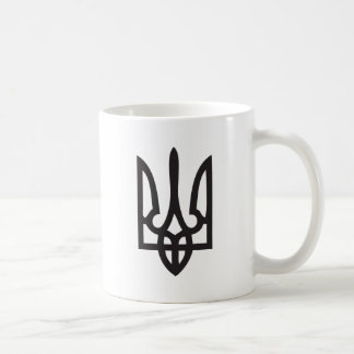 Cup / Mug with Ukrainian Trydent (Trident, Tryzub)
