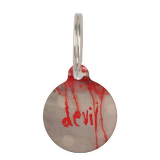 Cup of Blood (detail) Pet ID Tag