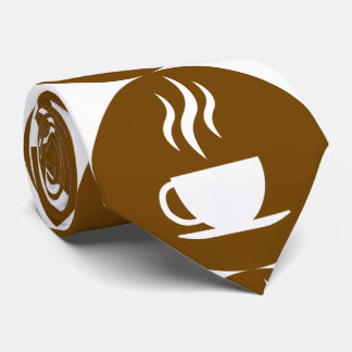 Cup of coffe dots tie