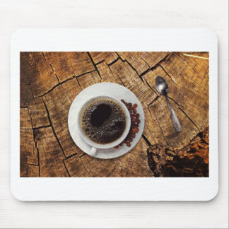 Cup of coffee coffeemania mouse pad