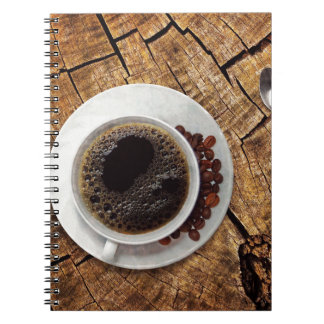Cup of coffee coffeemania notebook