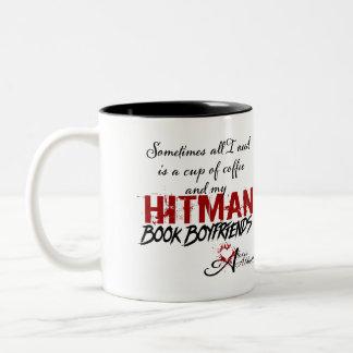 Cup of Coffee & Hitman Book Boyfriends