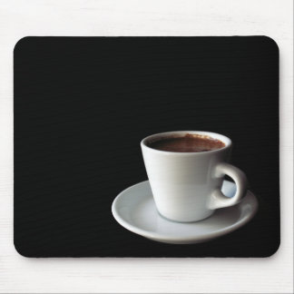 cup of coffee mouse pad