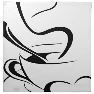 Cup Of Coffee Napkin