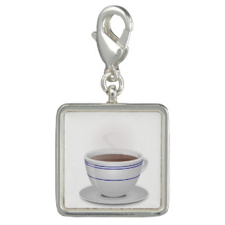 Cup of Coffee Photo Charm