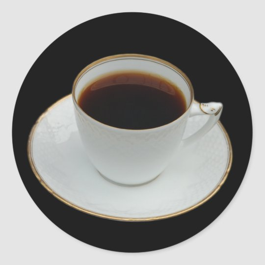 Cup of coffee stickers