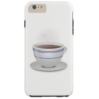 Cup of Coffee Tough iPhone 6 Plus Case