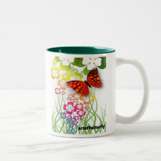 "Cup of ""Flair"" (butterfly)"