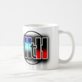 CUP OF HEAVEN TO HELL SHOW CLASSIC WHITE COFFEE MUG