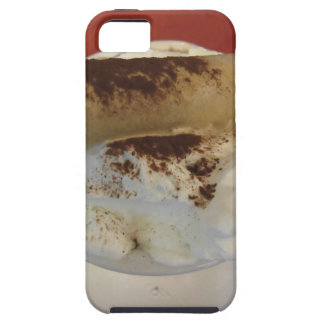 Cup of hot chocolate with whipped cream topping case for the iPhone 5