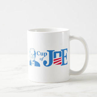 Cup of Joe Classic White Coffee Mug