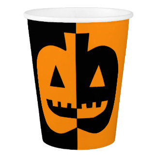 Cup of paper day of the witches Halloween Cup