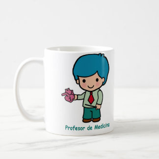 Cup of professor of medicine or anatomy