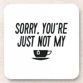 Cup Of Tea Beverage Coasters