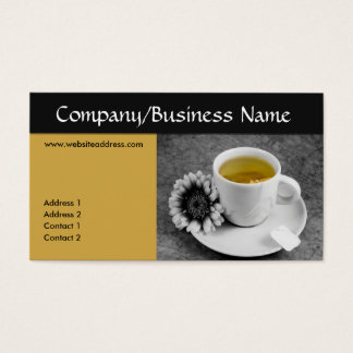 Cup of Tea Business Cards