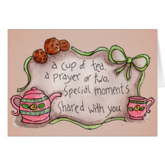 Cup of Tea - Greeting Card