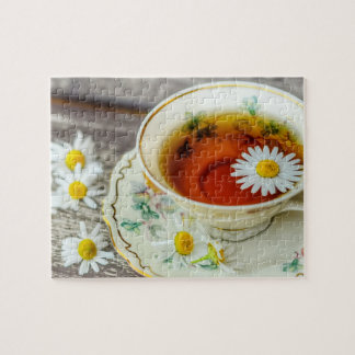 Cup Of Tea Jigsaw Puzzle