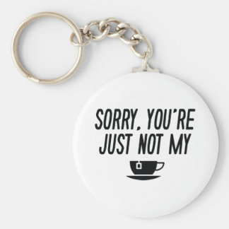 Cup Of Tea Keychain