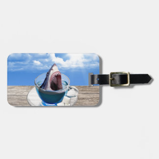 Cup of tea luggage tag