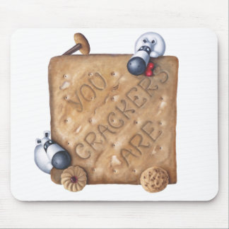 Cup Of Tea Slice Of Bake - You Drive Me Crackers! Mouse Pad