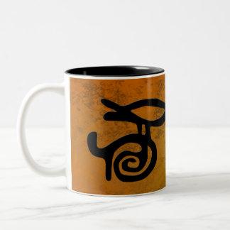 Cup petroglyphs