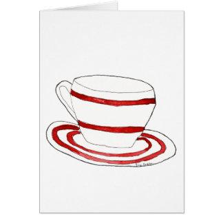 Cup & Saucer Cards