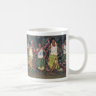 "Cup,Tongan Dancers, ""Where the Day Begins"" Coffee Mug"