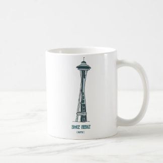 Cup Torre Space Needle Classic White Coffee Mug