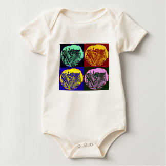 cup - town center 3 POINT perspective pop kind Baby Bodysuit