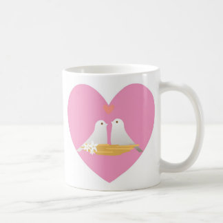 Cup-Valentine Doves Heart Coffee Mug