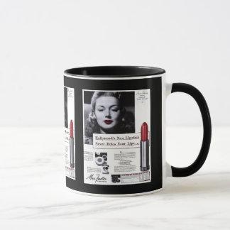 Cup-Vintage Lipstick Advertisement Mug