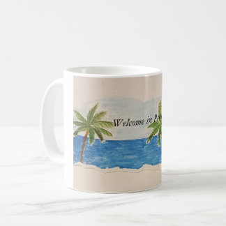 Cup - Welcome in Paradise