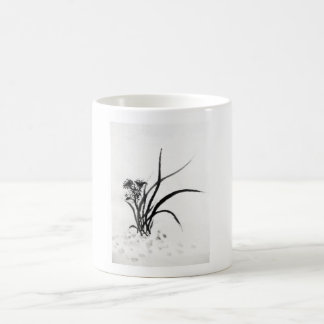 Cup with Chinese motive for grass