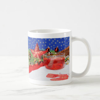 Cup with Christmas picture