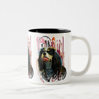 cup with dog portrait