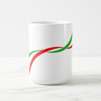 Cup with Italian flag