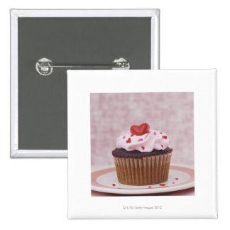 Cupcake 2 Inch Square Button