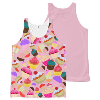 CUPCAKE All-Over-Print TANK TOP