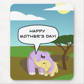 Cupcake and Butters Happy Mother's Day! Mouse Pad