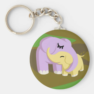 Cupcake and Butters Keychain