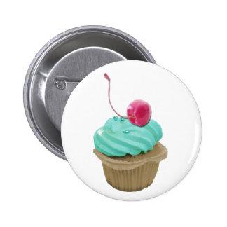 Cupcake and Cherry Pins