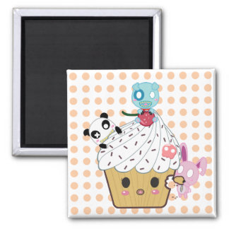 Cupcake Attack _ Magnets
