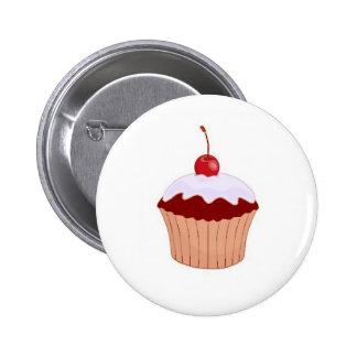Cupcake Badge 2 Inch Round Button