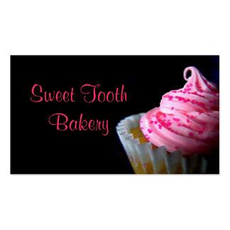 CupCake Bakery Buisness card fun cute chic yummy Business Card