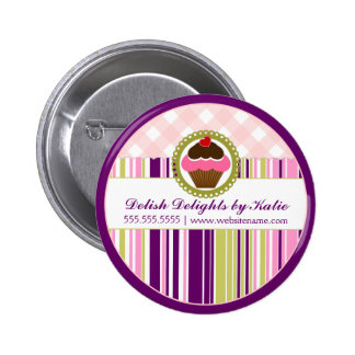 Cupcake Bakery Button