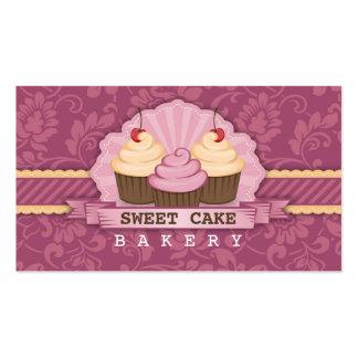 Cupcake Bakery Cute Business Card