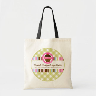 Cupcake Bakery Personalized Tote Bag