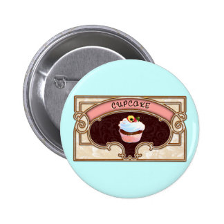 Cupcake Banner Victorian Style Pins