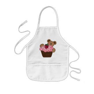 Cupcake Bear apron